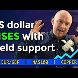 💸 The US Dollar RISES With Yield Support | EURGBP, NAS100, COPPER | Forex Forecast
