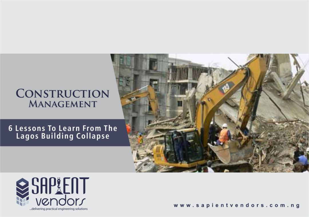 6 Lessons To Learn From The Lagos Building Collapse