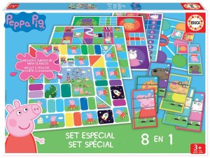 EDUCA SET ESPECIAL 8 EN 1 PEPPA PIG