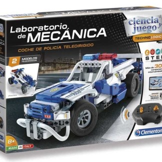 laboratorio de mecanica coche policia