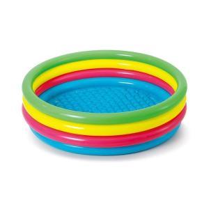 Piscina hinchable aros de colores 150cm