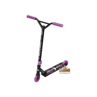 patinete aluminio 2 ruedas wild bull rosa