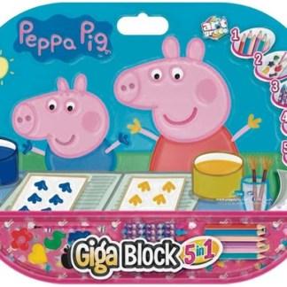 block dibujo peppa pig