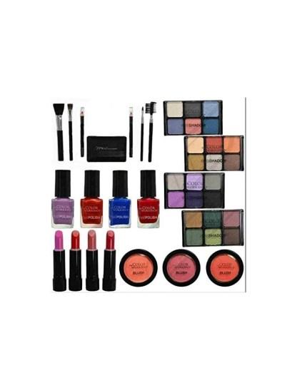 maletin de maquillaje rosa 2