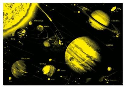PUZZLE 1000 SISTEMA SOLAR NEON