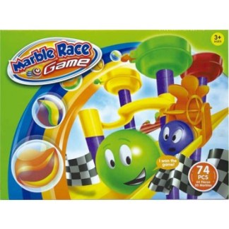 JUEGO MARBLE RACE 74 PIEZAS