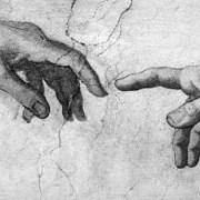 Бог и Адам