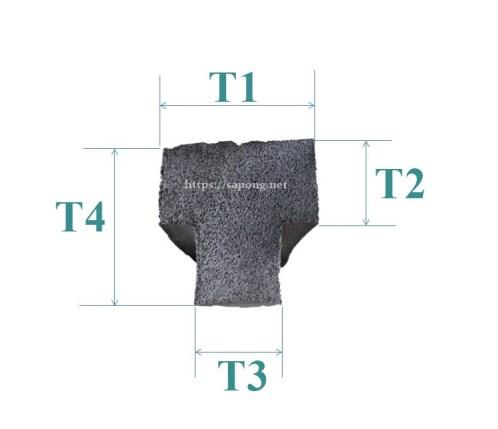 ซีลยางฟองน้ำ T-profile.JPG