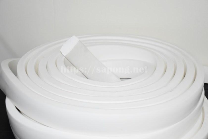 ยางฟองน้ำสีขาว 60 mm