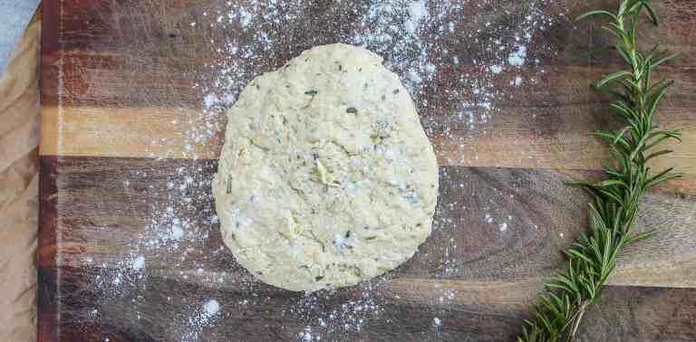 dough for crackers