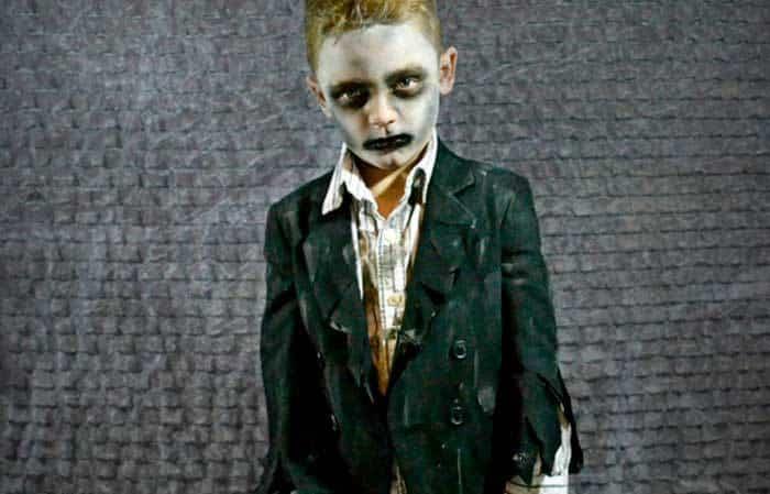 disfraz de zombi casero