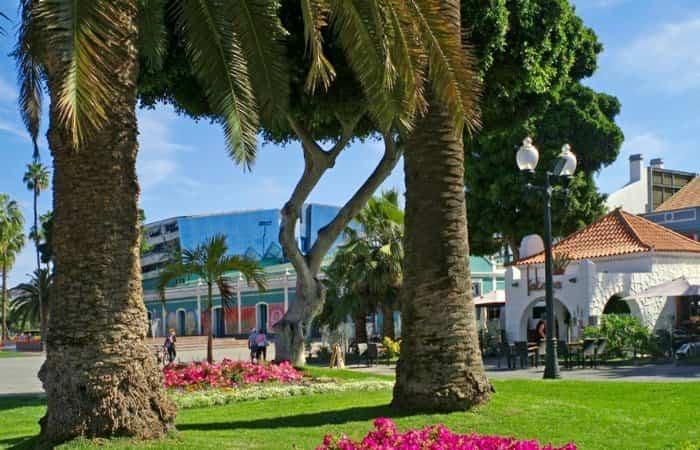 Parque de Santa Catalina en Las Palmas de Gran Canaria