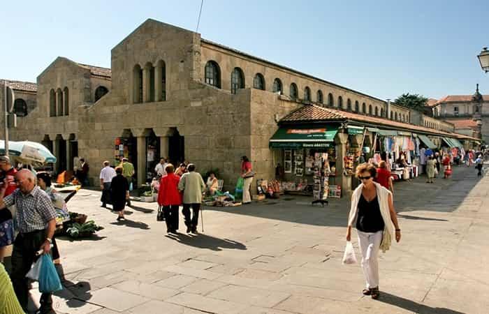 Mercado de Abastos de Santiago de Compostela, A Coruña