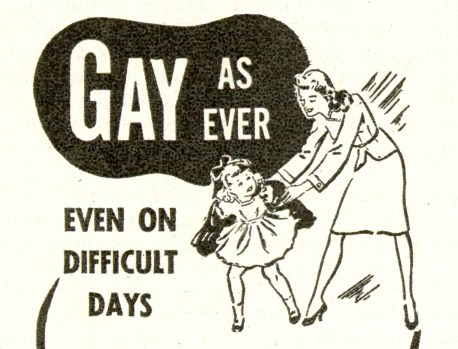 gay on diffficult days