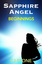 Sapphire Angel - Beginnings superheroine story cover