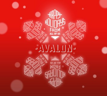 Avalon Management Holiday Card 2015