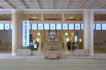 札幌祖霊神社 本殿内部