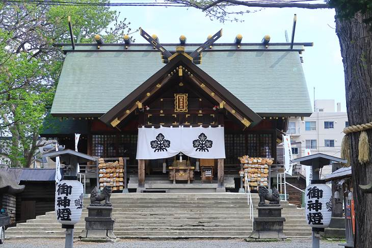 札幌諏訪神社 本殿