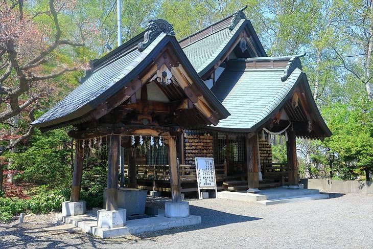 平岸天満宮・太平山三吉神社 手水舎
