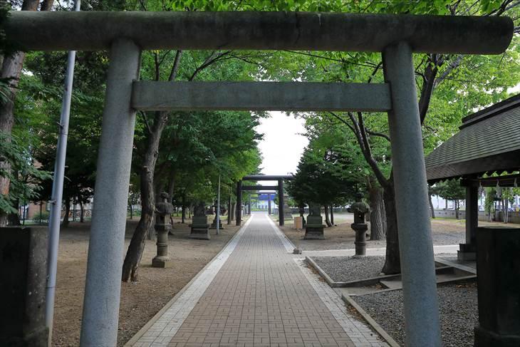 江南神社 第三鳥居