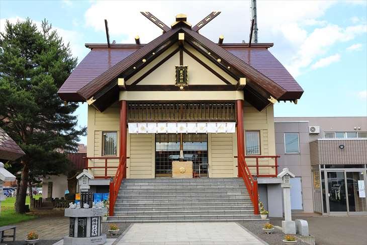 新川皇大神社 社殿