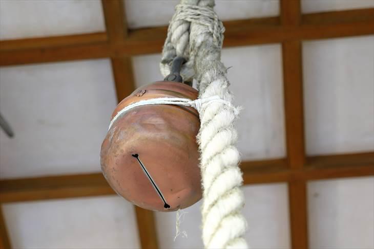 豊平神社の鈴