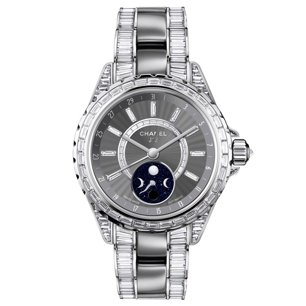 CHANEL J12 MOONPHASE H3460