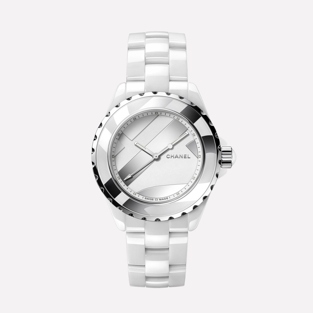 CHANEL J12 UNTITLED WHITE 38mm H5582