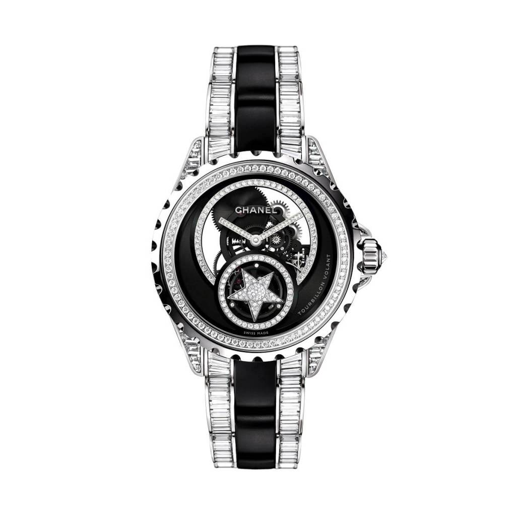 CHANEL J12 SKELETON FLYING TOURBILLON 38mm H4560