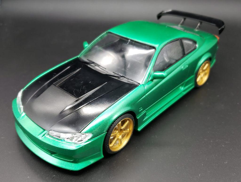 プラモデル アオシマ ザ★チューンドカー 42. Rodextyle S15 SILVIA(シルビア)