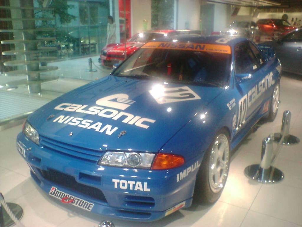 カルソニック R32 GT-R@日産札幌ギャラリー