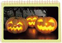 ハロウィンかぼちゃランタン教室