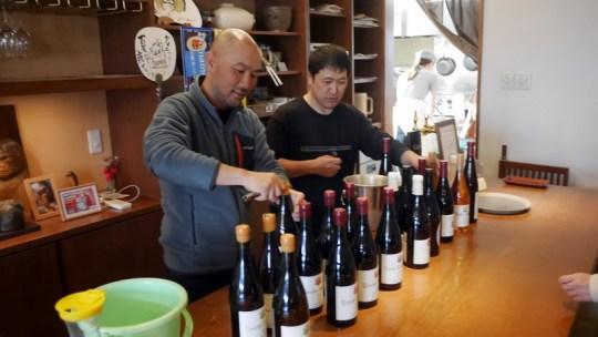 ドメーヌ タカヒコ春の蔵出しワイン会 in Jijiya・Babaya 加藤商店のワインとの楽しいコラボ