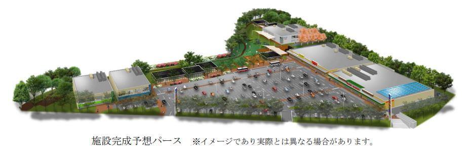 月寒ドーム跡地に複合商業施設2019年夏オープン予定