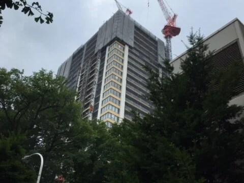 伊藤ガーデン建設中