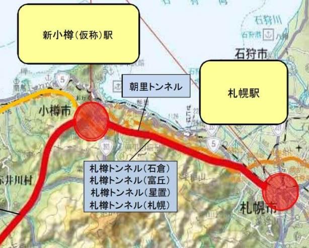ルート 北海道 新幹線