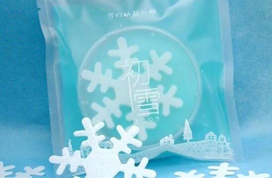 雪の結晶紙せっけん