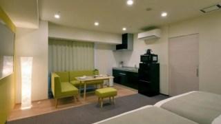 札幌レジデンシャルスイーツ部屋