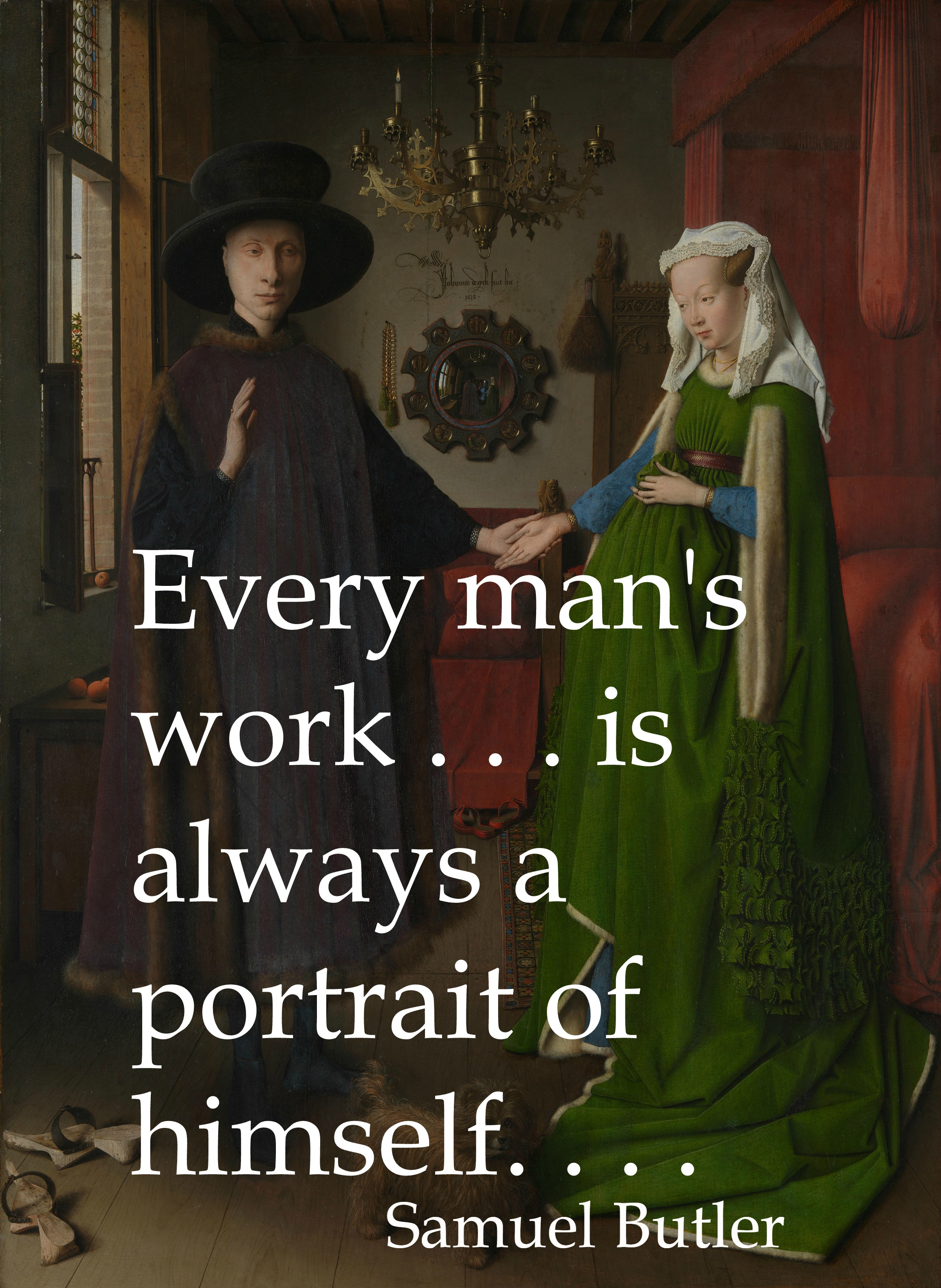 Writer's Quote Wednesday: Portrait of the Artist as a Middle-Aged Woman?