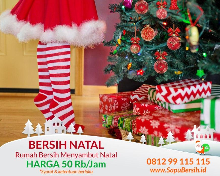 jasa bersih rumah menyambut natal sapubersih bandung