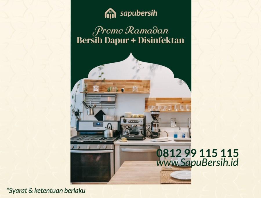 Bersih Dapur Dan Disinfektan Di Kota Bandung
