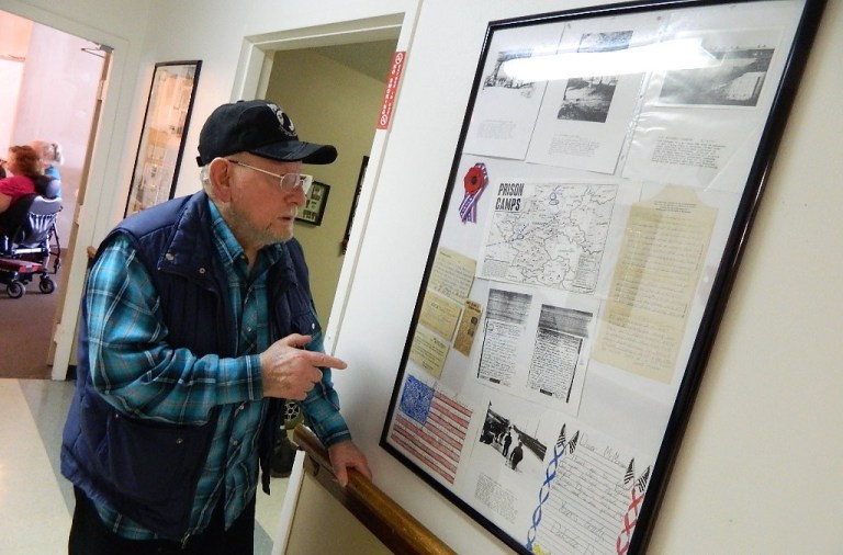 WWII soldier-POW Paul Morgan turns 90, recalls capture by Germans