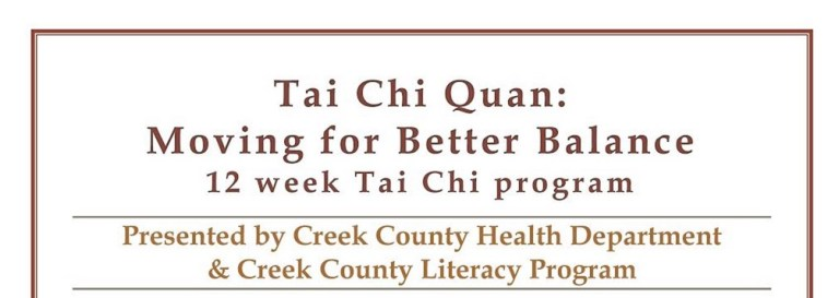 Tai Chi Quan: Moving for Better Balance – Designed to Reduce Older Adults' Risk of Falling, resumes September