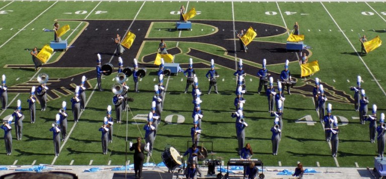 SUPERIOR: Sapulpa HS Band Gets Stellar Rating in Regional Marching Competition