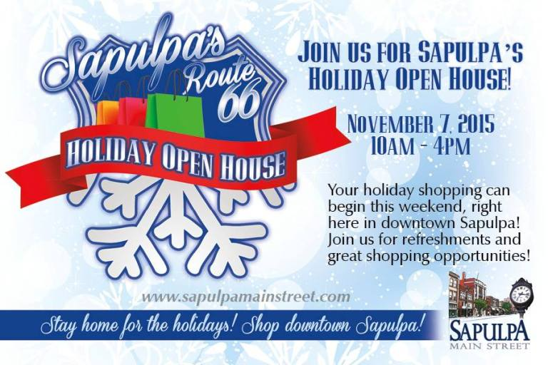 What to do this weekend in Sapulpa (Nov 6-8)
