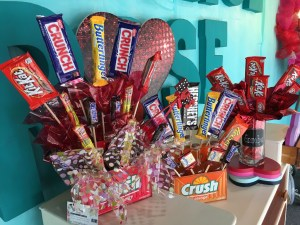Candy Bouquets are a great Valentine's gift for that someone with a sweet tooth!