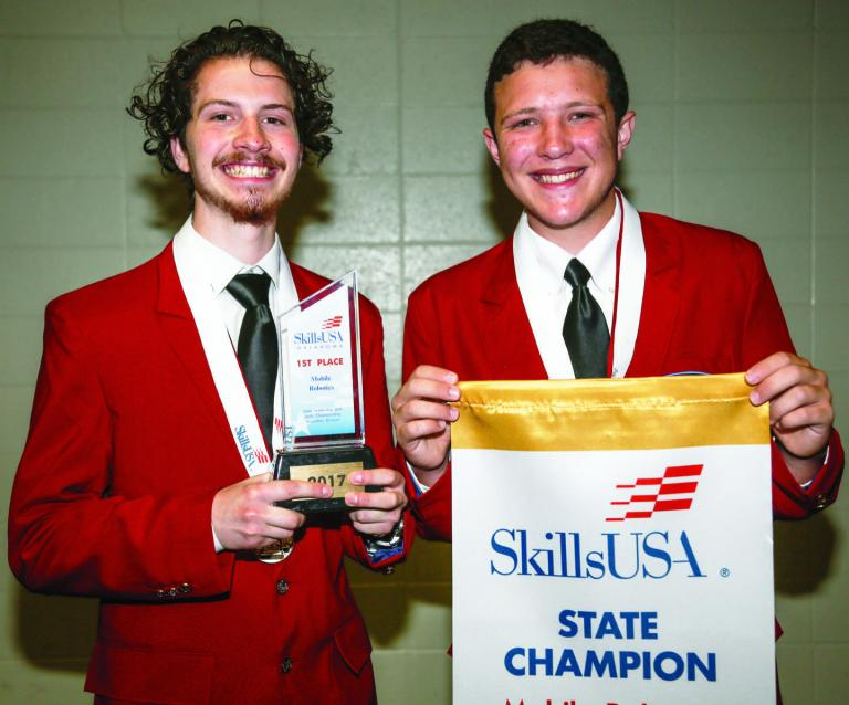Photos: Central Tech Students Win Awards at National Conferences
