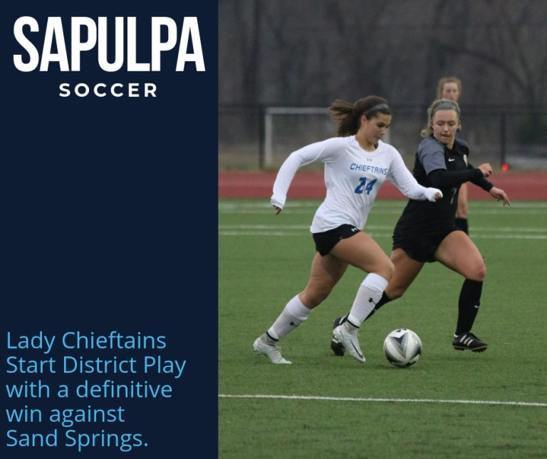 Sapulpa soccer hammers Sand Springs to start district play