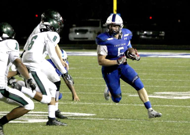 PHOTOS: Sapulpa lights up Edison in first home football game of the season