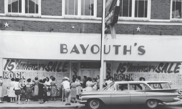 Bayouth's 15th Anniversary.